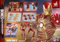 Hot Toys - Iron Man 3: Iron Man Mark XLI 'Bones' - 1/6 Scale Collectible Figure - Sideshow Exclusive